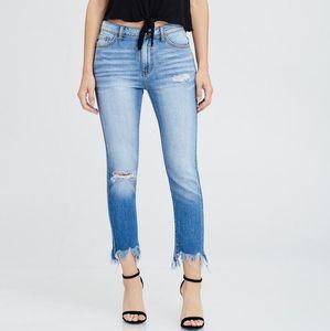 KanCan Heidi-Bakari Destroyed Boyfriend Jeans